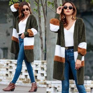 Plush Longline Jacket